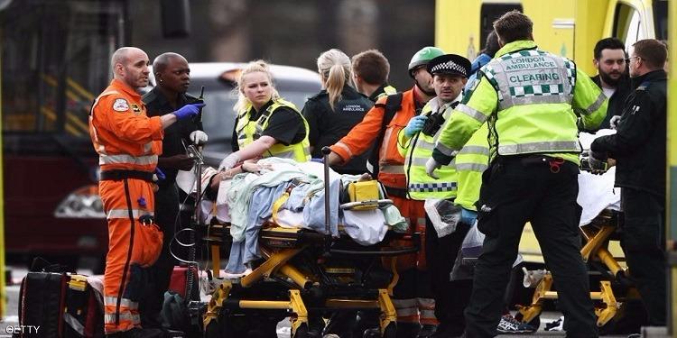هجوم البرلمان البريطاني ... 4 قتلى و إصابة 20