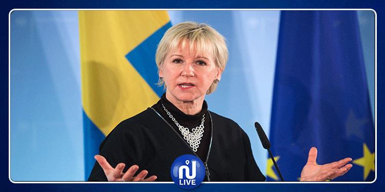 وزيرة خارجية السويد تعبر عن إعجابها بالتطور الحاصل في تونس