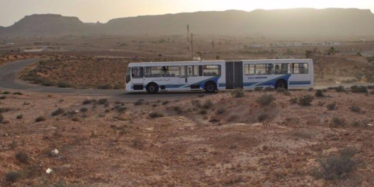 تطاوين: تخصيص 45 حافلة للنقل المدرسي والجامعي