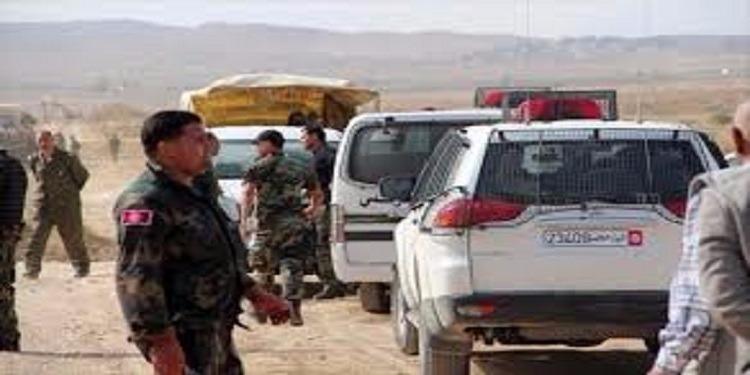 القصرين: إيقاف 10 أجانب بصدد التسلل  للتراب التونسي