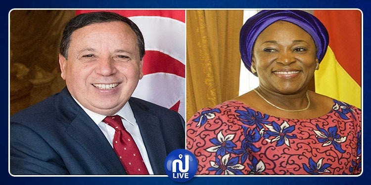 La chef de la diplomatie ghanéenne en visite en Tunisie