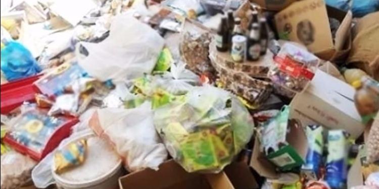 بنزرت: الكشف عن مخزن عشوائي لمواد الغذائية غير صحّية
