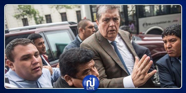 Suicide de l'ex-président péruvien Alan Garcia