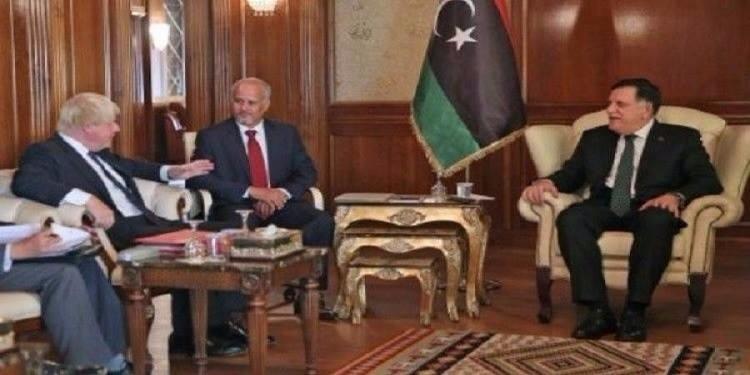 ليبيا تطلب دعما بريطانيا