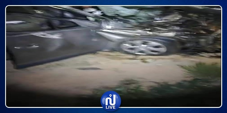 جرجيس: وفاة طفلة الـ13 سنة في إصطدام بين سيارة وجرار فلاحي (صور)