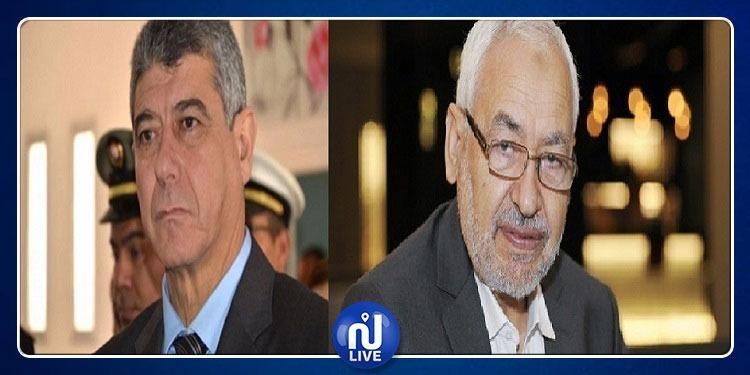 غازي الجريبي يقاضي راشد الغنوشي بسبب تصريحاته