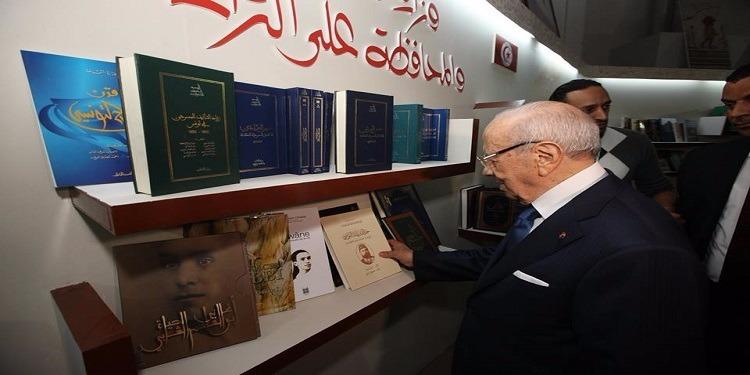 رئيس الجمهورية يزور معرض تونس الدولي للكتاب