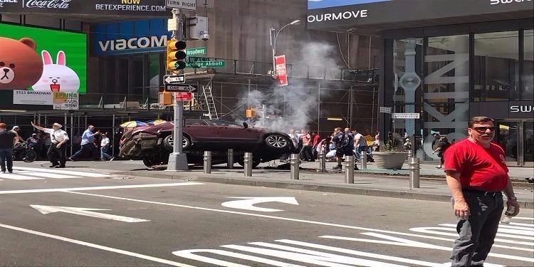 نيويورك: كشف هوية المشتبه به في إرتكاب حادثة الدهس في ميدان ''تايمز سكوير''
