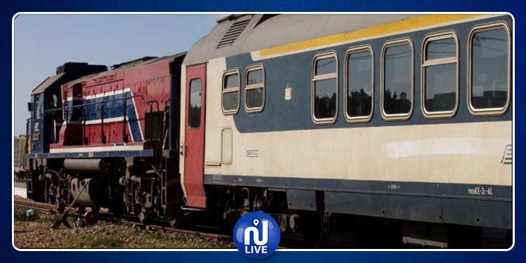 توقف حركة القطارات بين تونس والقلعة الخصبة