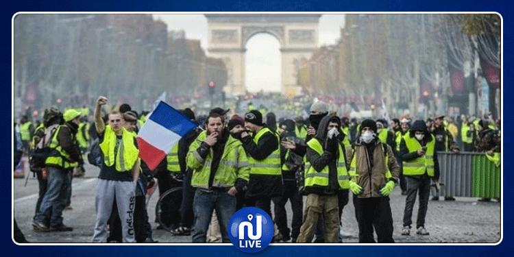 فرنسا: اصابات واعتقالات في صفوف متظاهري ''السترات الصفراء''