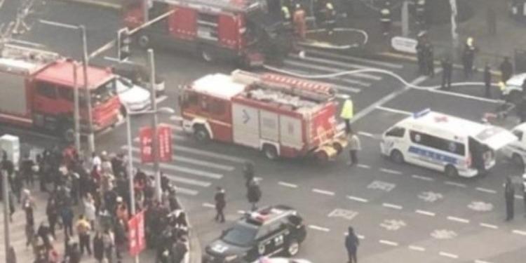 شنغهاي: إصابة 18 شخصا في حادث دهس (فيديو +صور)