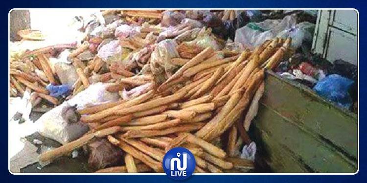 Les Tunisiens jettent le pain comme on jette du papier...