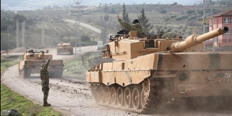 القوات التركية تستأنف غاراتها على عفرين السورية بعد 5 أيام من الهدوء
