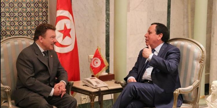 فحوى لقاء الجهيناوي برئيس غرفة التجارة الوطنية الأمريكية العربية