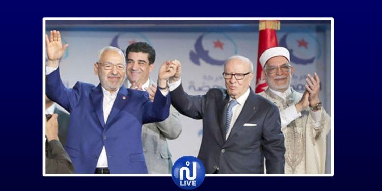حركة النهضة تجدّد تمسّكها بالتوافق مع رئيس الجمهورية