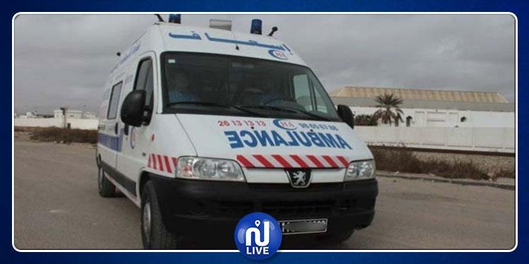 حيدرة: الإستيلاء على سيارة إسعاف بالقوة ومطاردة أمنية لشخصين
