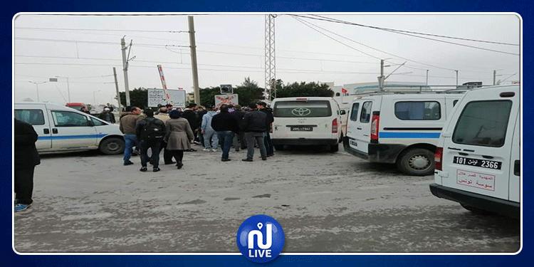 المهدية : إضراب أصحاب سيارات الأجرة ''لواج''