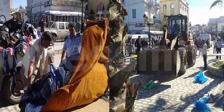 بنزرت: حملة جهوية ضدّ الإنتصاب بالملابس المستعملة (صور)