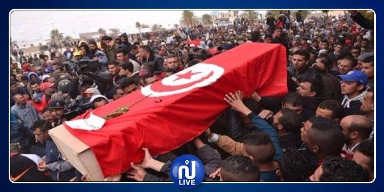 القصرين: إحياء الذكرى الرابعة لاستشهاد أعوان الحرس في 'بولعابة'