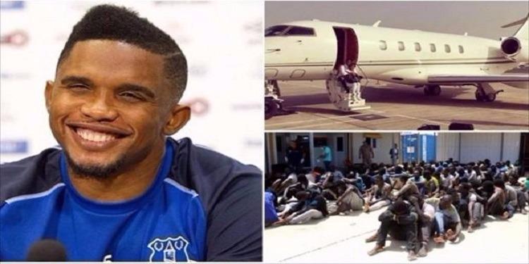 صامويل ايتو يوضح حقيقة نقل مهاجرين كاميرونيين من ليبيا على حسابه الخاص
