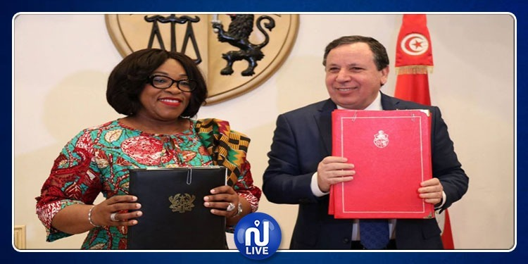 Tunisie/Ghana : signature de 3 accords de coopération