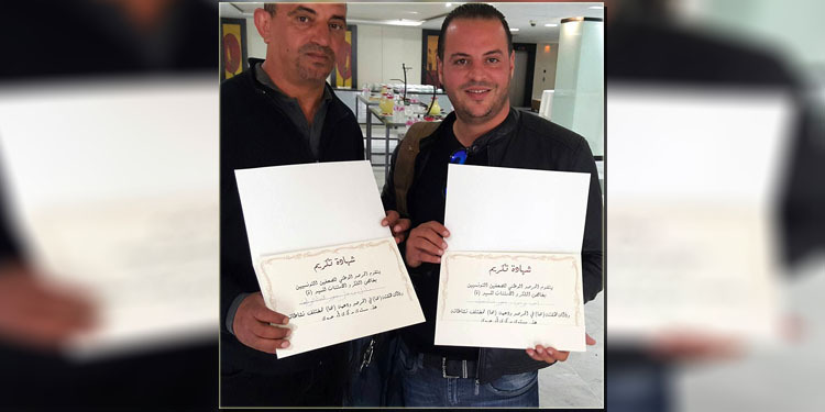 المرصد الوطني للصحفيين التونسيين يكرّم المصور الصحفي بقناة نسمة أمين البرني