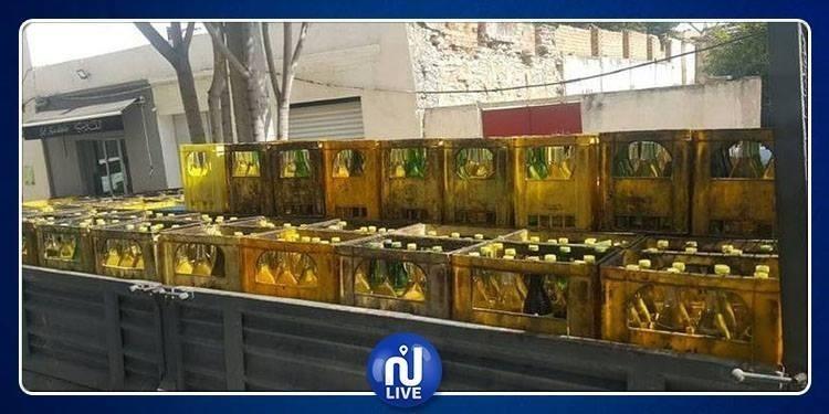 القيروان: حجز 1388 لترا من الزيت المدعّم