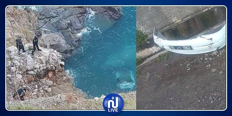 انتشال قتيل والبحث عن مفقود: سقوط سيارة تونسية في بحر الجزائر (صور)