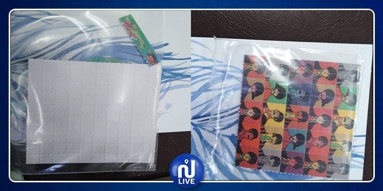 بن عروس: مخدّر ''LSD'' الخطير جدا في طوابع بريدية (صور)