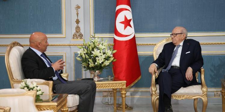 رئيس الجمهورية يستقبل رئيس الهيئة السياسية لحركة نداء تونس