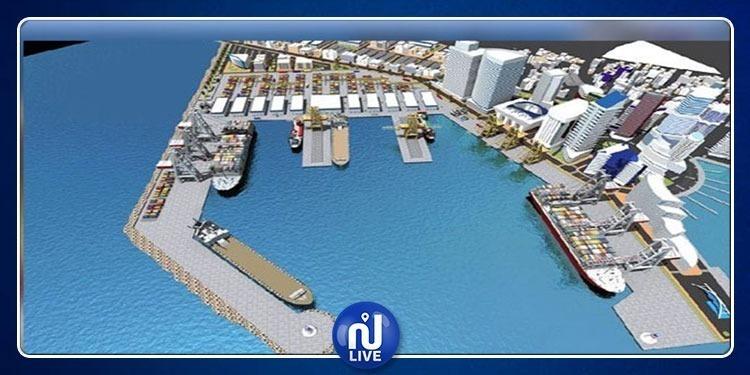 الإعلان عن موعد بداية أشغال انجاز ميناء المياه العميقة بالنفيضة