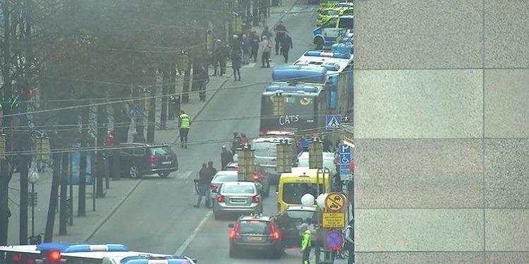 هجوم ستوكهولم: 3 قتلى وسقوط عدد من الجرحى
