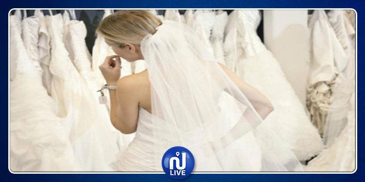 بالفستان الأبيض..عشيقة رجل تقتحم يوم زفافه (فيديو)