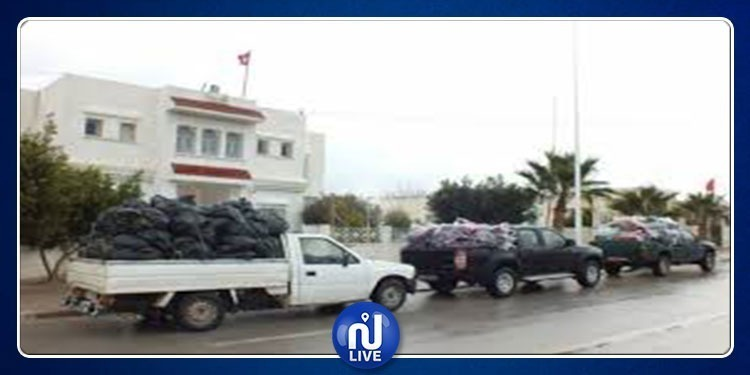 سيدي بوزيد: توزيع مساعدات لمواجهة موجة البرد