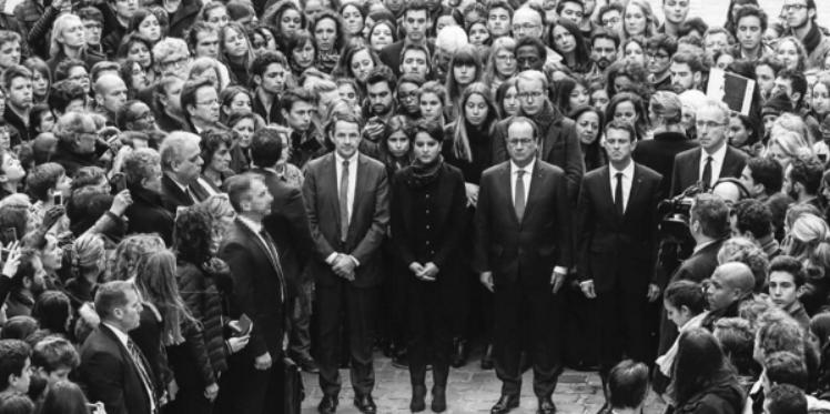 فرنسا: دقيقة صمت حدادا على ضحايا مذبحة باريس