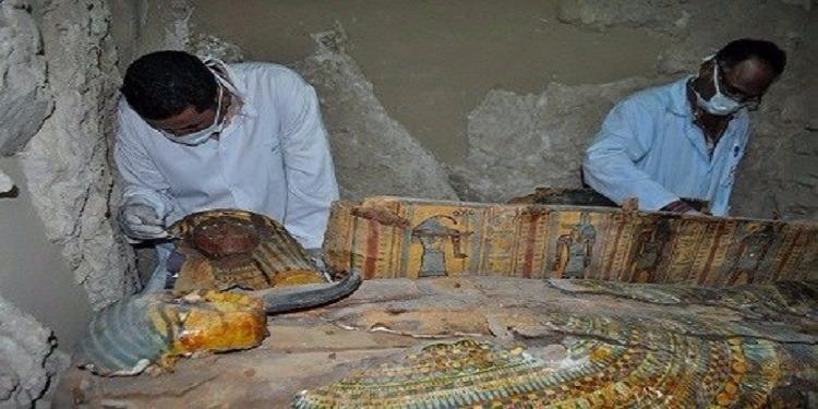 مصر: العثور على قبر فرعوني يعود لـ3500 عام (صور)