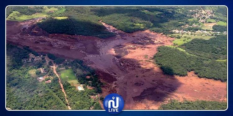 البرازيل: فقدان 200 شخص في حادث انهيار سد (فيديو)