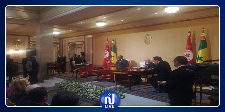 توقيع 6 اتفاقيات تعاون ومذكرات تفاهم بين تونس والسينغال