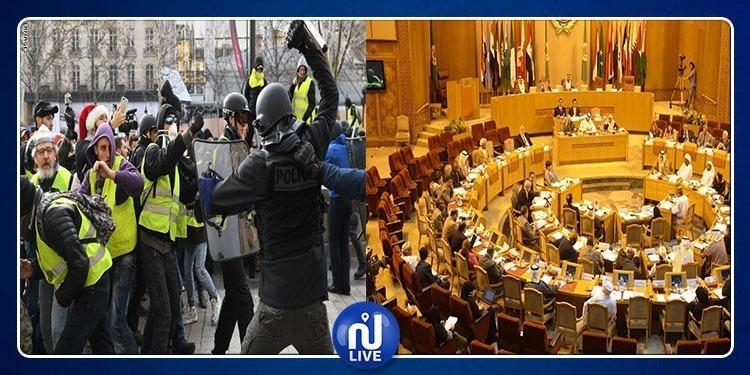Parlement arabe: Appel à la France à libérer les ''Gilets jaunes''