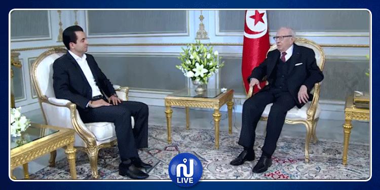 رئيس الجمهورية يستقبل حمزة البلومي (فيديو)