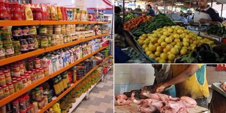 سيدي بوزيد: حجز كميات هائلة من المواد الغذائية والغلال