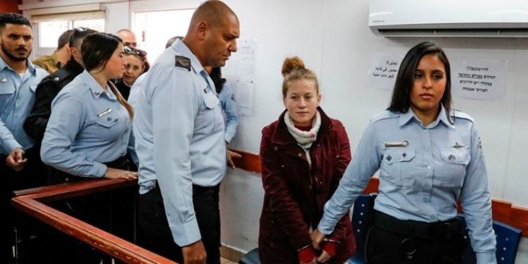8 أشهر سجنا للفلسطينية عهد التميمي