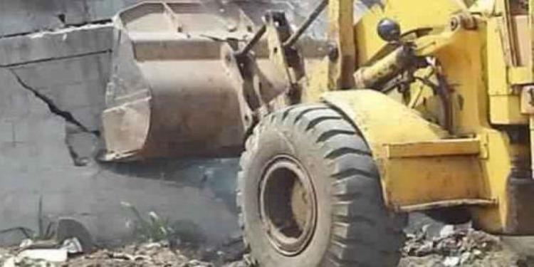 بن عروس: تنفيذ قرارات هدم وإزالة بمنطقة تحجير في بومهل