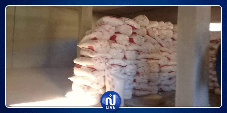 قفصة: حجز 18.5 قنطار من السكر والفارينة (صور)
