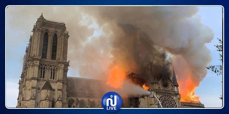 Notre-Dame de Paris ravagée par un incendie (Photos)