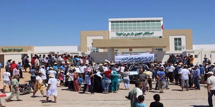 صفاقس: أعوان الصحة بالمستشفى المحلي ببئر علي بن خليفة في اضراب مفتوح