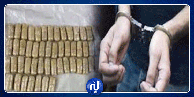 سليانة: الإطاحة بمروج مخدرات