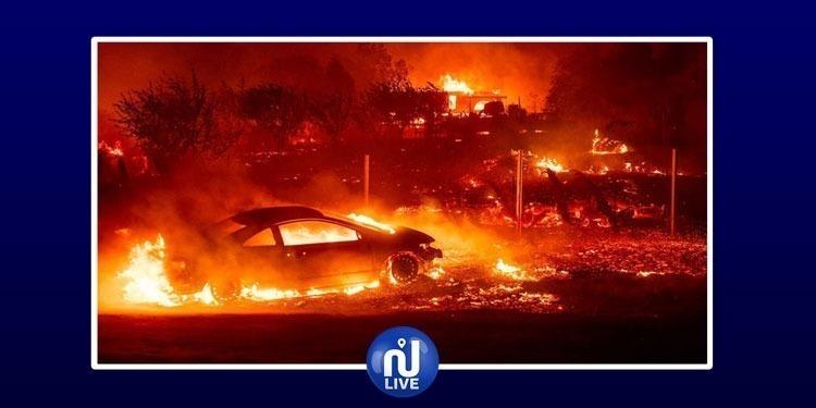 كاليفورنيا: الحرائق تودي بحياة 48 شخصا