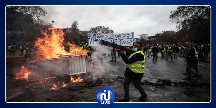 Protestations-Gilets jaunes: des dégâts partout en France..(vidéo)