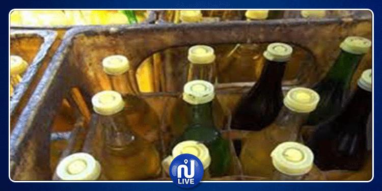 باجة: مداهمة مخزن عشوائي وحجز 3500 لتر من الزيت وكميات من الفارينة